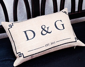 D&G pillow
