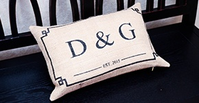small D&G pillow